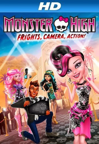 Poster Of Monster High (2014) Full Movie Hindi Dubbed Free Download Watch Online At Alldownloads4u.Com