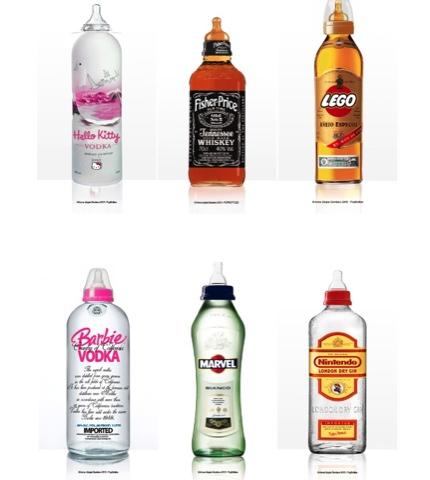 mamadeira, mamadeiras diferentes, bebidas, garrafas, mamadeiras com logos diferentes, mamadeiras com logos de empresas,