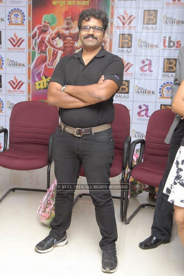 Rishikesh Joshi at Govindrao Wanjari College, in Nagpur.