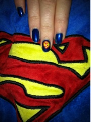 Nailart superhero