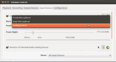 PulseAudio Volume Control 001