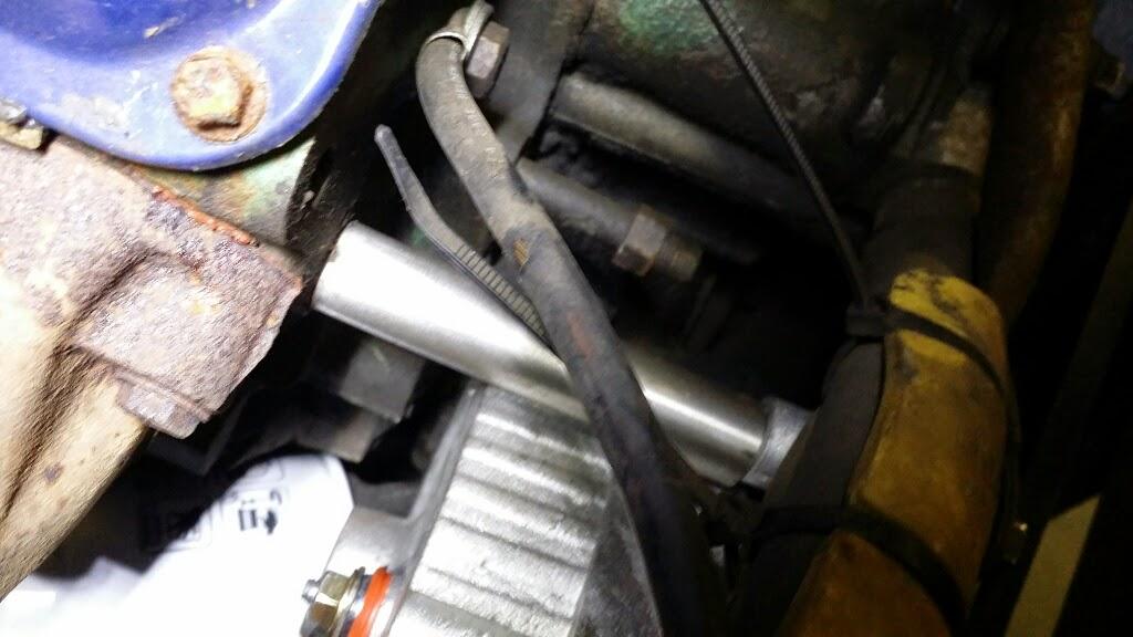Missing Alternator Mounting Brackets