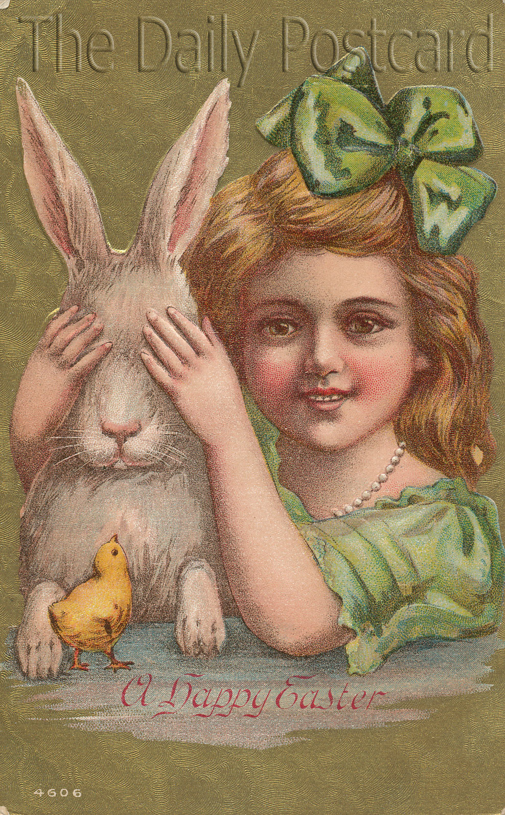 The Daily Postcard Easter Bunny