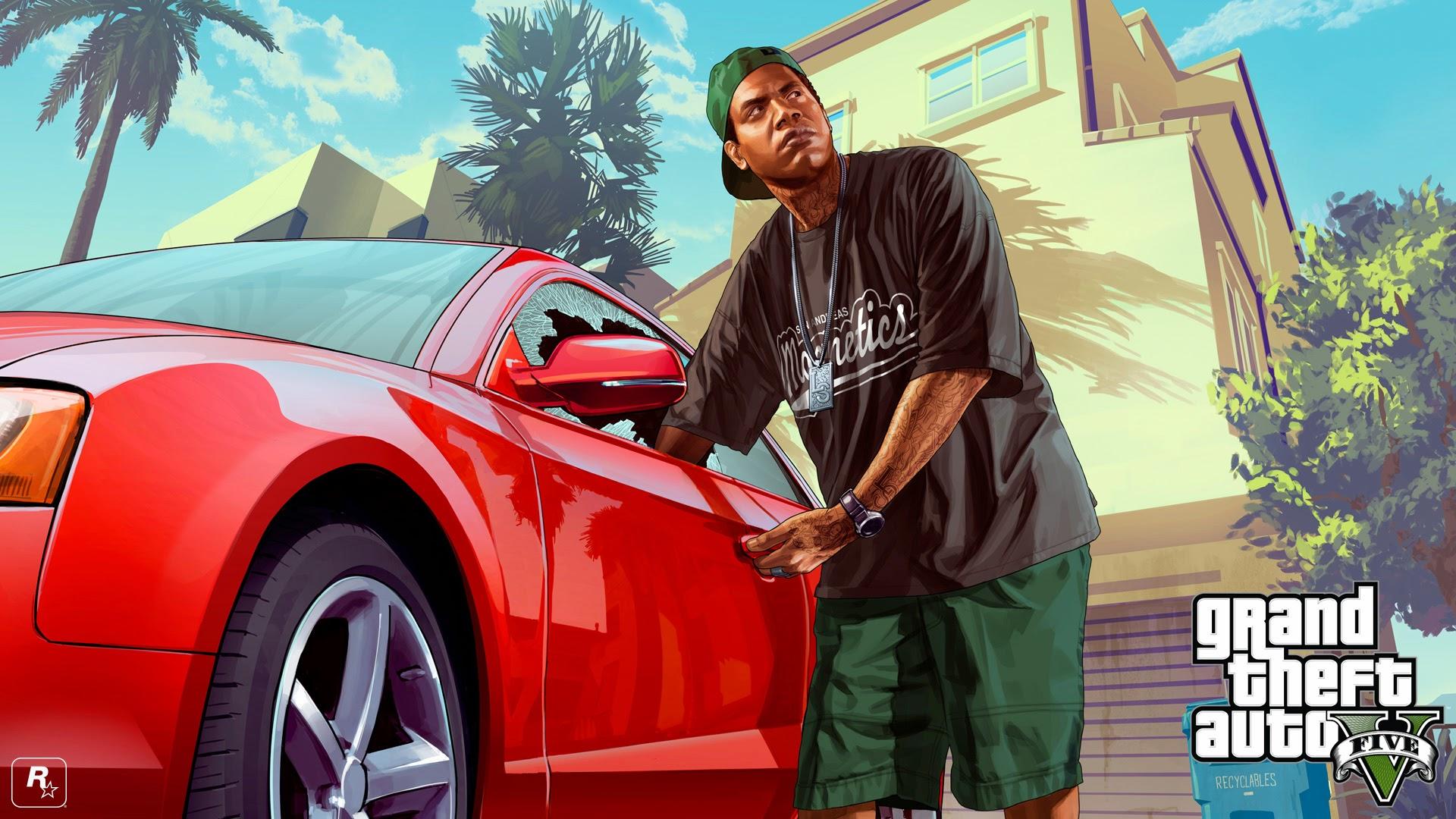 Rockstar công bố hình nền mới của Grand Theft Auto V - Ảnh 3