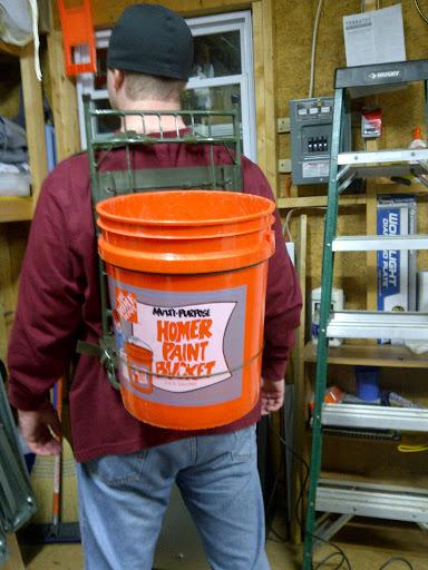 Diy 5 Gallon Bucket Shelves