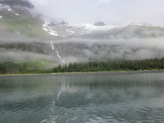 Campsite #3 with Baker Glacier Behind