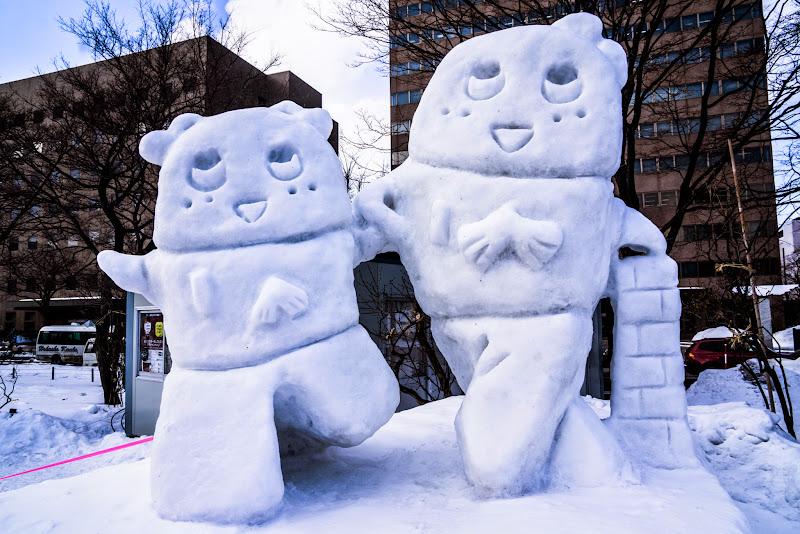 さっぽろ雪まつり ふなっしー 写真