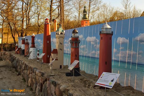 Kaszubski Park Miniatur Strysza Buda - Latarnie Morskie