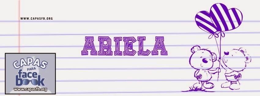 Capas para Facebook Ariela