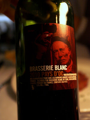 Wine at Brasserie Blanc