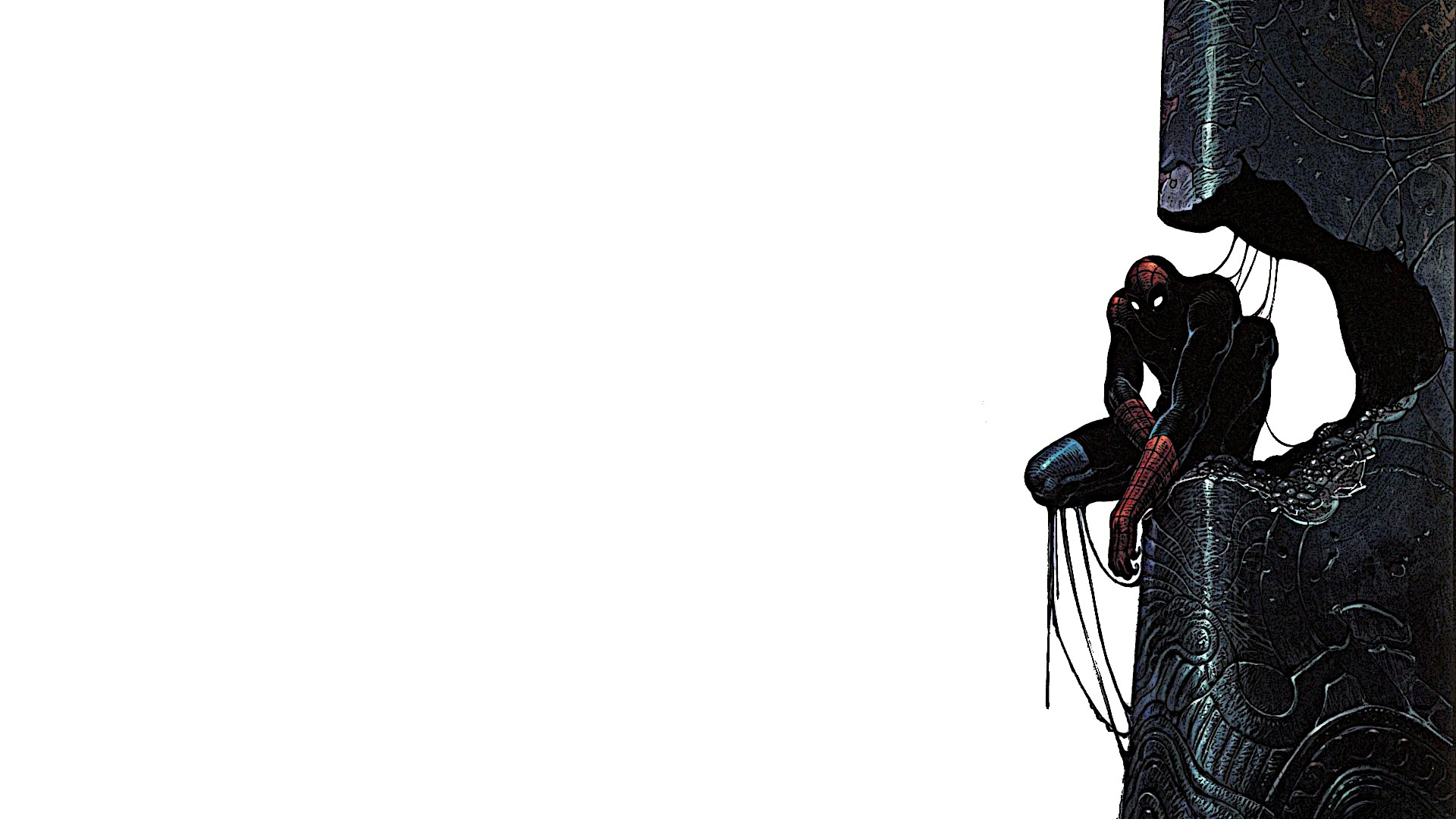 bd-Art Wallpapers — Spider-Man by Moebius