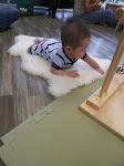 LePort Preschool Huntington Beach - Tummy time at Montessori childcare
