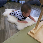 LePort Preschool Huntington Beach - Tummy time at Montessori childcare