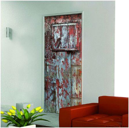 vinilos decorativos para puertas