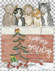 Cats on Brick Wall Lg LDM.jpg