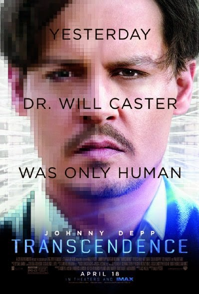 Poster Of English Movie Transcendence (2014) Free Download Full New Hollywood Movie Watch Online At Alldownloads4u.Com