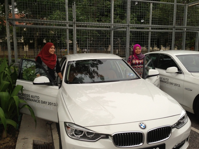 Test drive BMW F30 at Ingress Auto by Julianazren