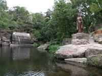 Памятник княгине Ольге в Коростене