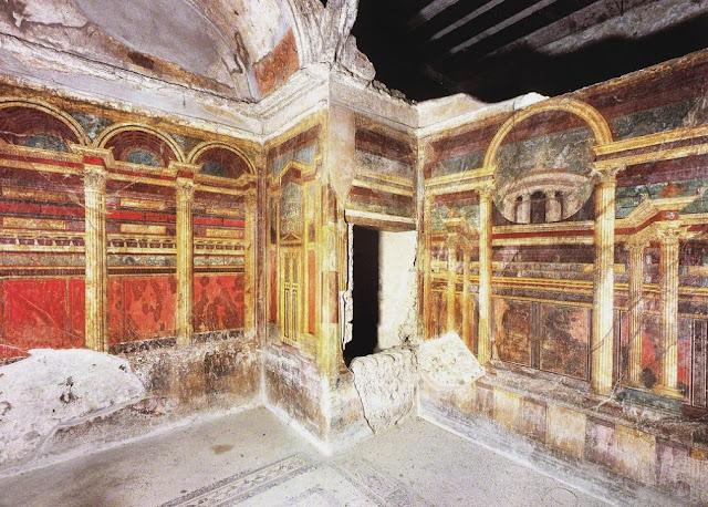 Algargos Arte E Historia La Villa De Los Misterios De Pompeya El