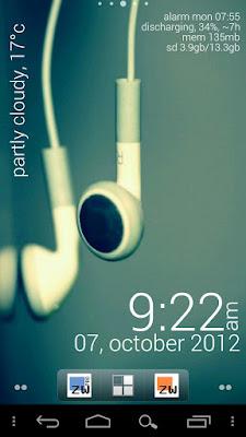 *最時尚又特殊的時鐘小工具:Zooper Widget (Android App) 2
