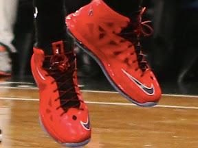 timeline 130130 shoe lebron10 brightredpe 2012 13 Timeline