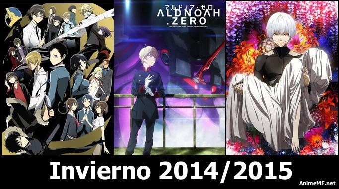 Animes para la temporada Invierno 2014/2015