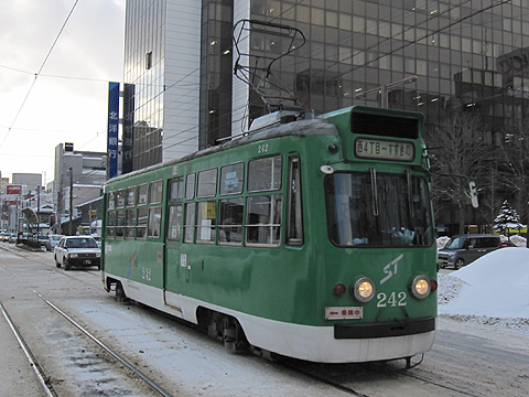 札幌市電 242号