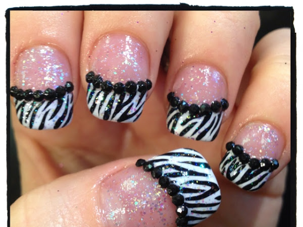 Day 138 - Zebra Print Tips