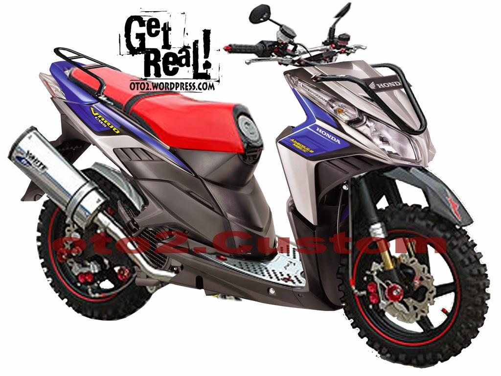 Honda Beat Modifikasi Touring