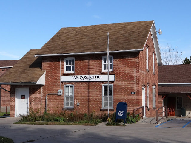 South Amana, Iowa post office, 2012
