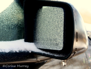 1987 Ford Mustang GT passenger mirror all iced up