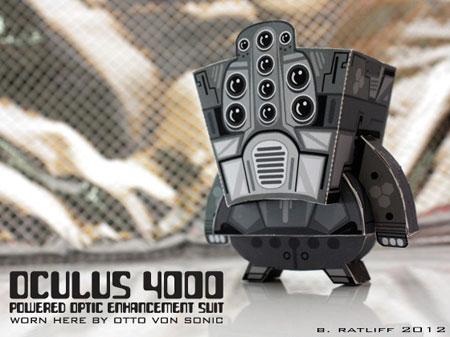 Ocuus 4000 Paper Toy