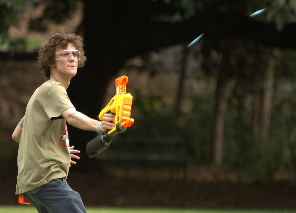 Kelvin Grove war pictures: December 18th   Picture heavy... Nerf%2Bwar%2B373