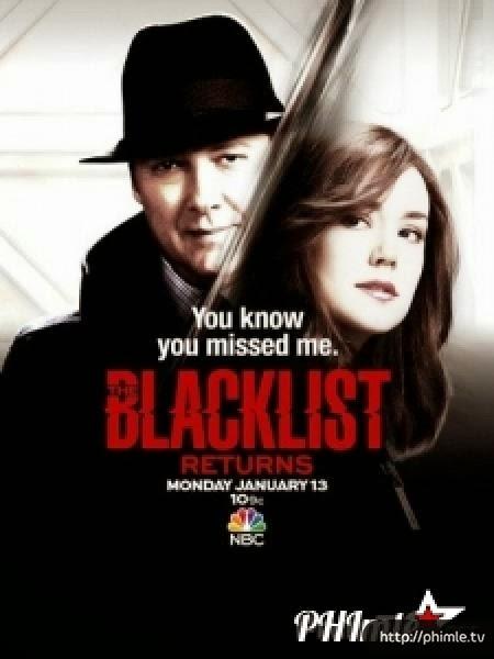 Phim Danh sách đen (Phần 2) - The Blacklist (season 2) - VietSub