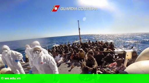 Hình 1: Nạn nhập cư trái phép vào châu Âu sẽ diễn biến phức tạp hơn nữa