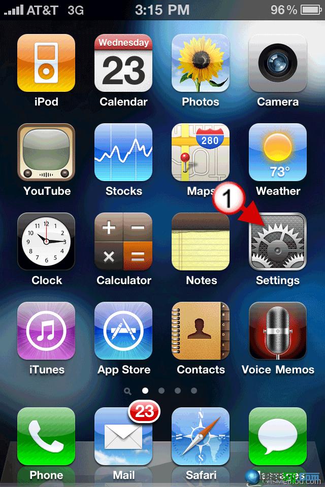 hình 3 - cài đặt mật khẩu iphone