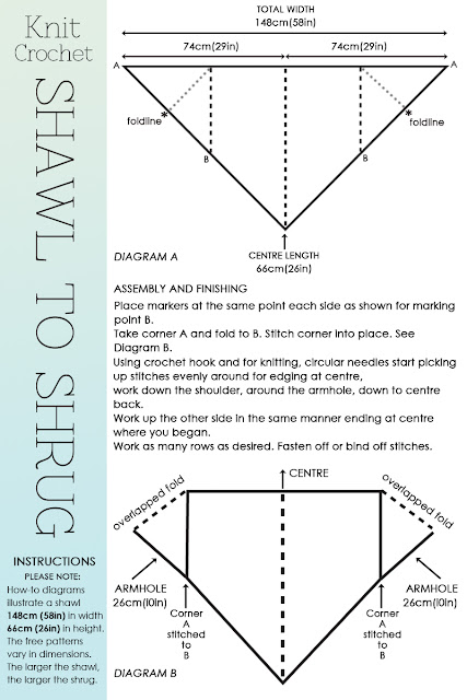 Knitting Pattern Diagrams : DiaryofaCreativeFanatic