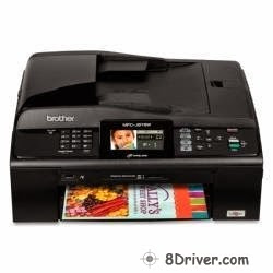 Download Brother MFC-J615N printer's driver, learn how to setup