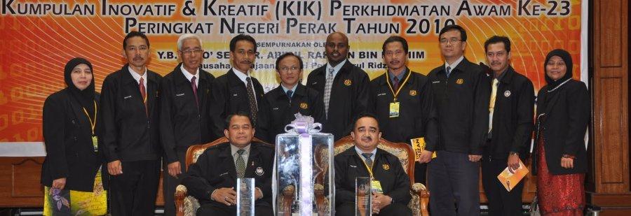 Johan Kumpulan Inovatif dan Kreatif Negeri Perak 2010 - Projek e-Chopp