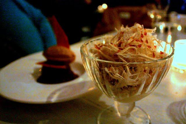 Dessert at Taboon restaurant in New York City
