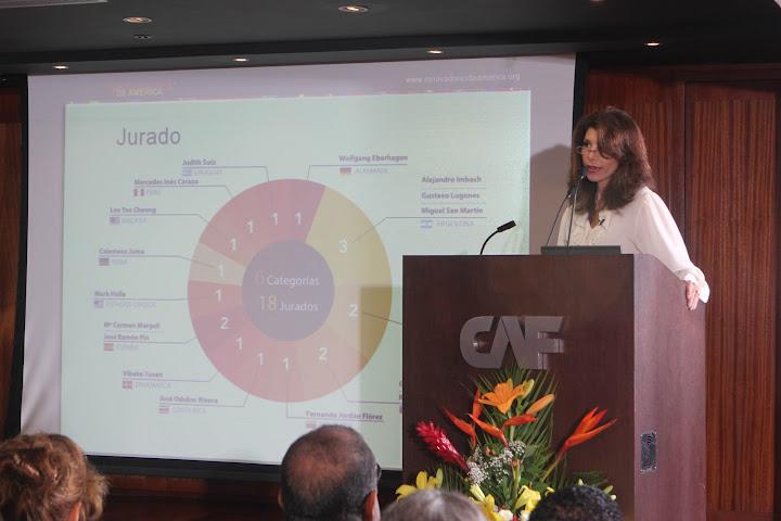 Ganadores de los premios Innovadores de América de gira en Caracas