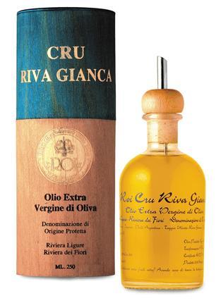 Cru Riva Gianca Olio DOP Riviera Ligure 0,250 l