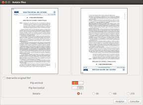 rotate pdf and save ubuntu