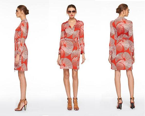 Dvf Vintage Wrap Dress Diane von Furstenberg Vintage