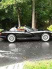 2000 DODGE VIPER RT/10 Black/SADDLE! 6-SPEED  31k-MILES 450HP