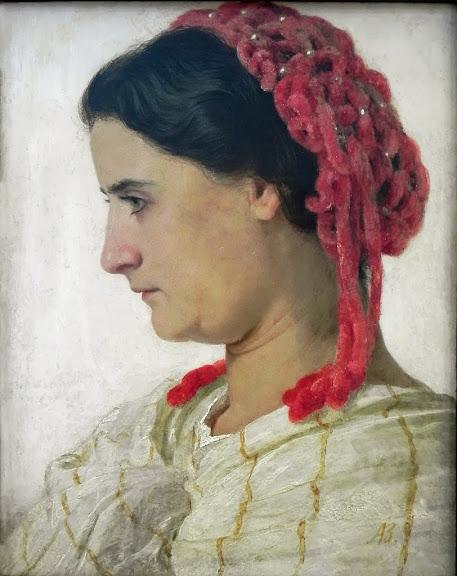 Arnold Böcklin - Angela Böcklin