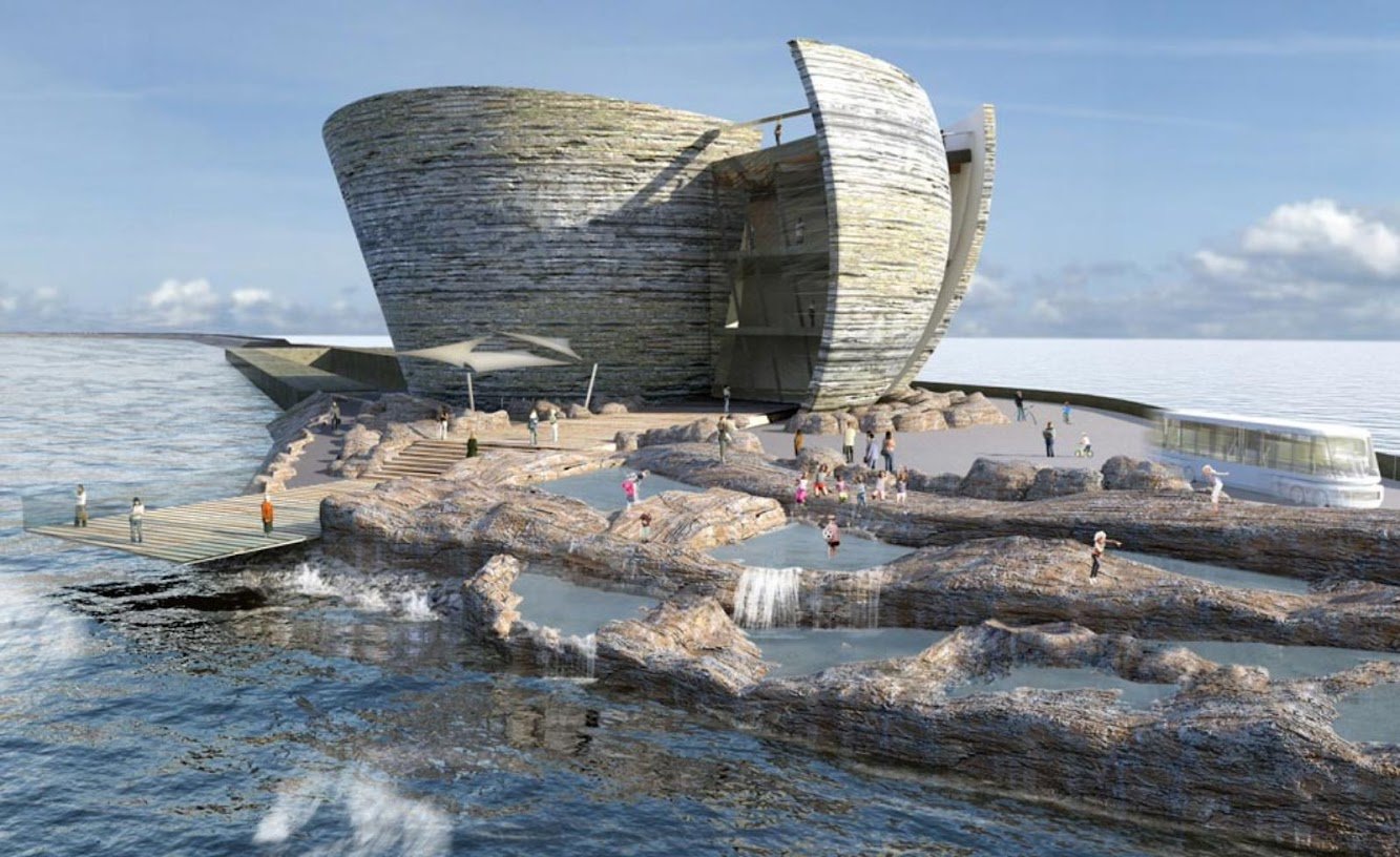 Swansea Bay, Regno Unito: Tip of the Iceberg by Juice Architects