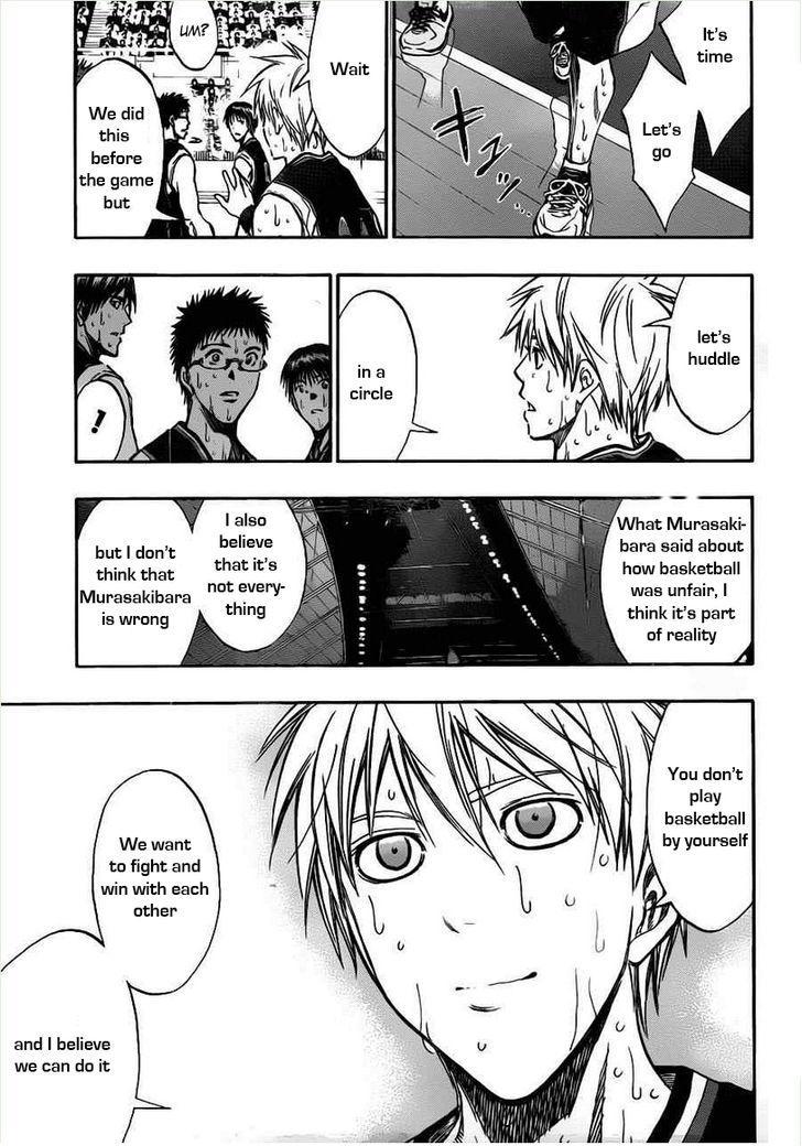 Kuroko no Basket Manga Chapter 160 - Image 15