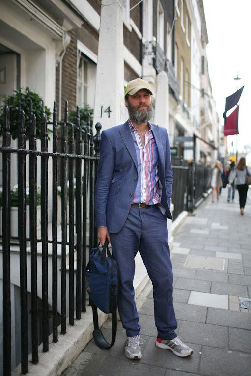 *英國倫敦時裝周場外街拍:攝影師Kuba Dabrowski捕捉街頭英倫紳士! 24