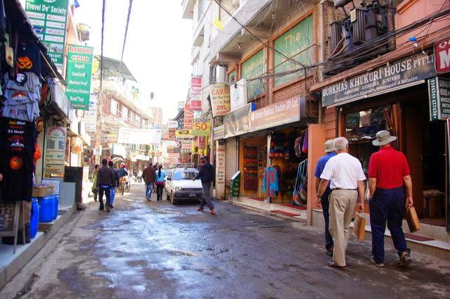 達人帶路-環遊世界-尼泊爾-路面